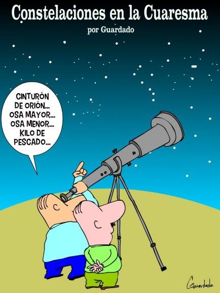 Constelaciones en la cuaresma