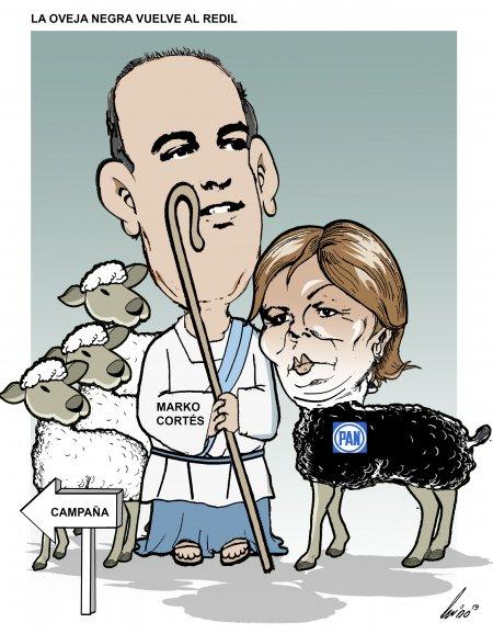 La oveja negra vuelve al redil