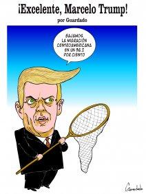 ¡Excelente, Marcelo Trump!