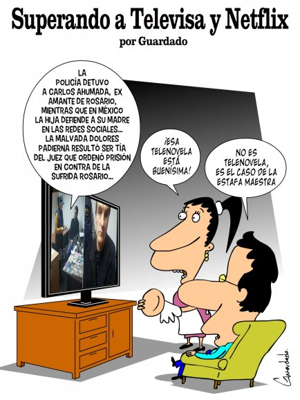 Superando a Televisa y Netflix