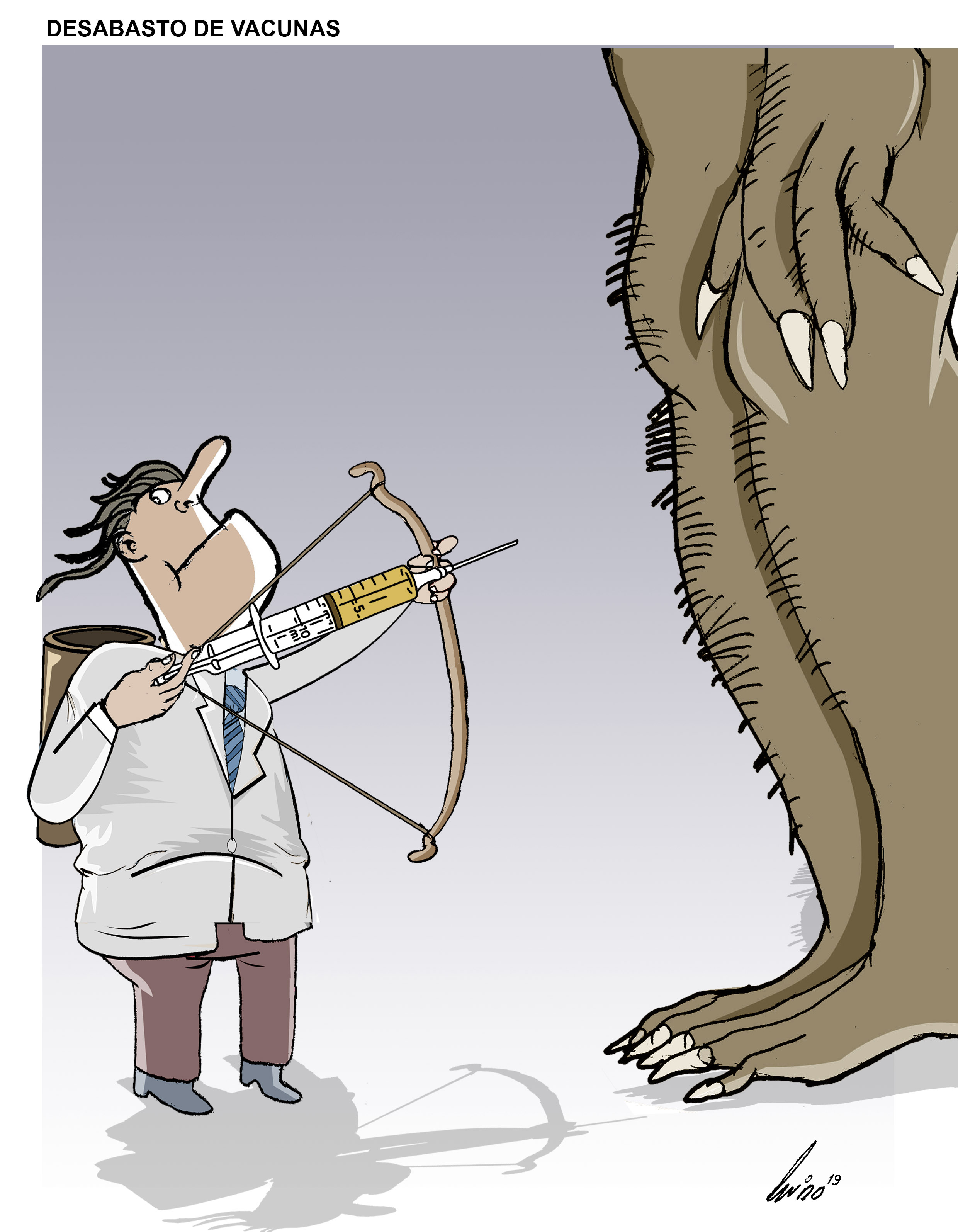 Desabasto de vacunas