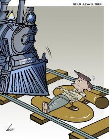 Se lo lleva el tren